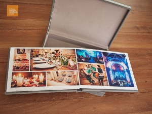 These wedding photobooks are made to last thanks to quality materials, archival inks and printing processes